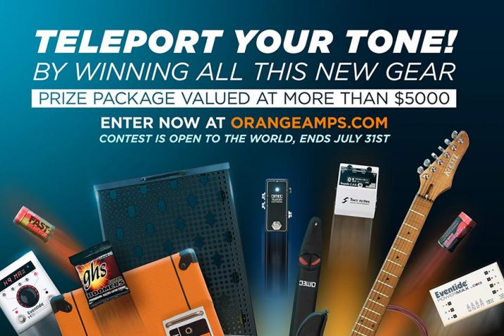 Orange Teleport your tone competition