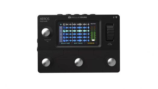 Singular Sound Aeros Loop Studio Looper Pedal