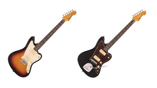 Vintage launch V65 Hardtail and Vibrato, ReIssued Series off-set electric guitars.