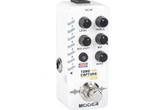 MOOER Tone Capture Guitar Micro Pedal