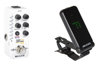 MOOER Tone Capture Guitar Micro Pedal and CT01 Tuner