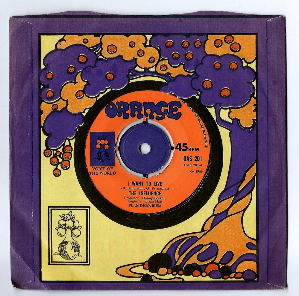 Orange Recording Label