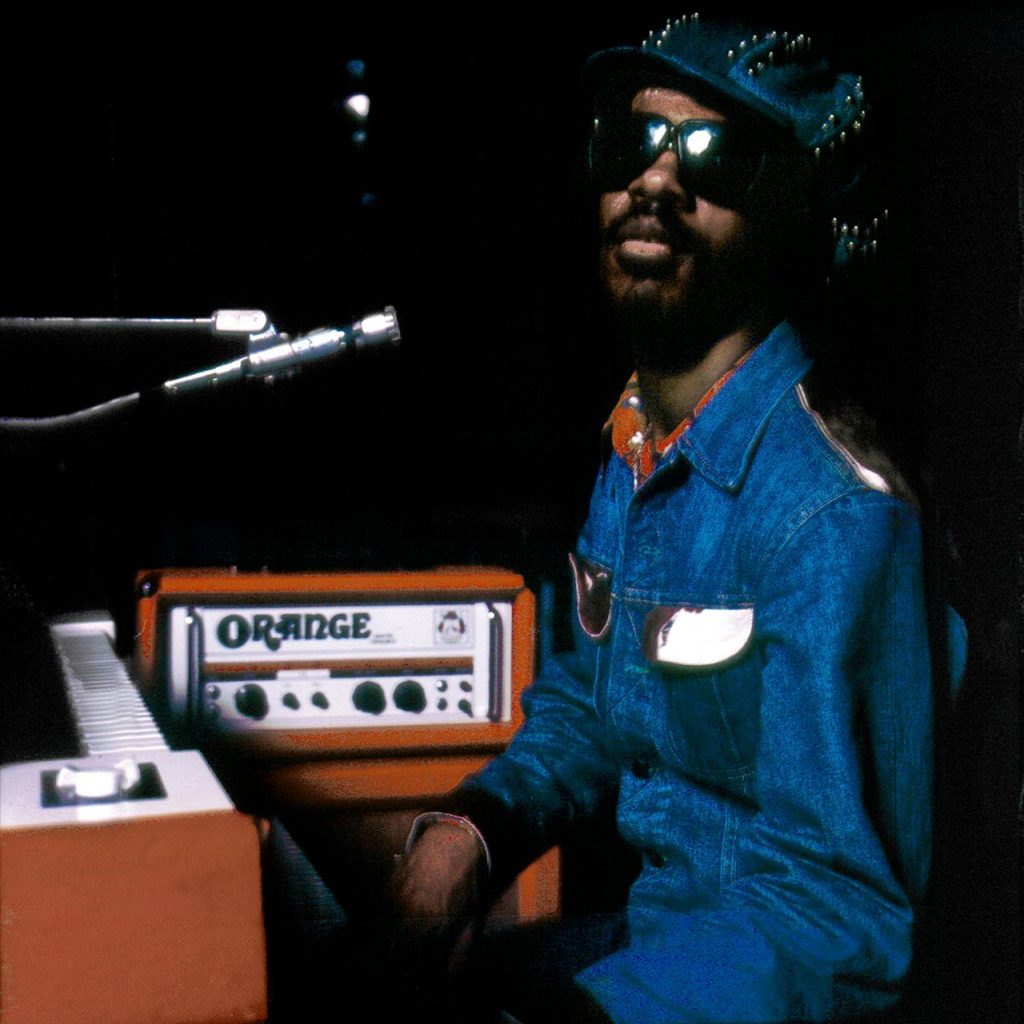 Stevie Wonder Using Orange