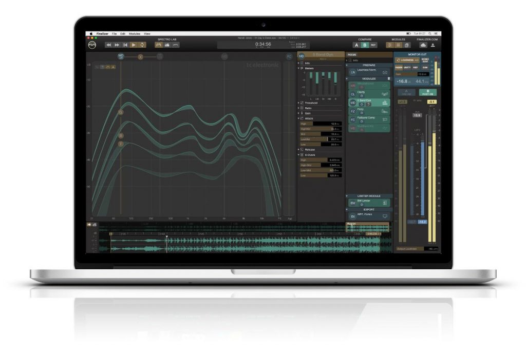 TC Electronic Finalizer Mastering App