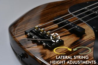 New 5-String Ray Ross Saddle-Less Bass Bridge