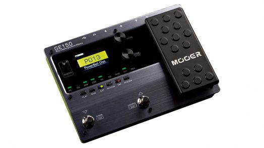 MOOER Audio introduces the MOOER GE150