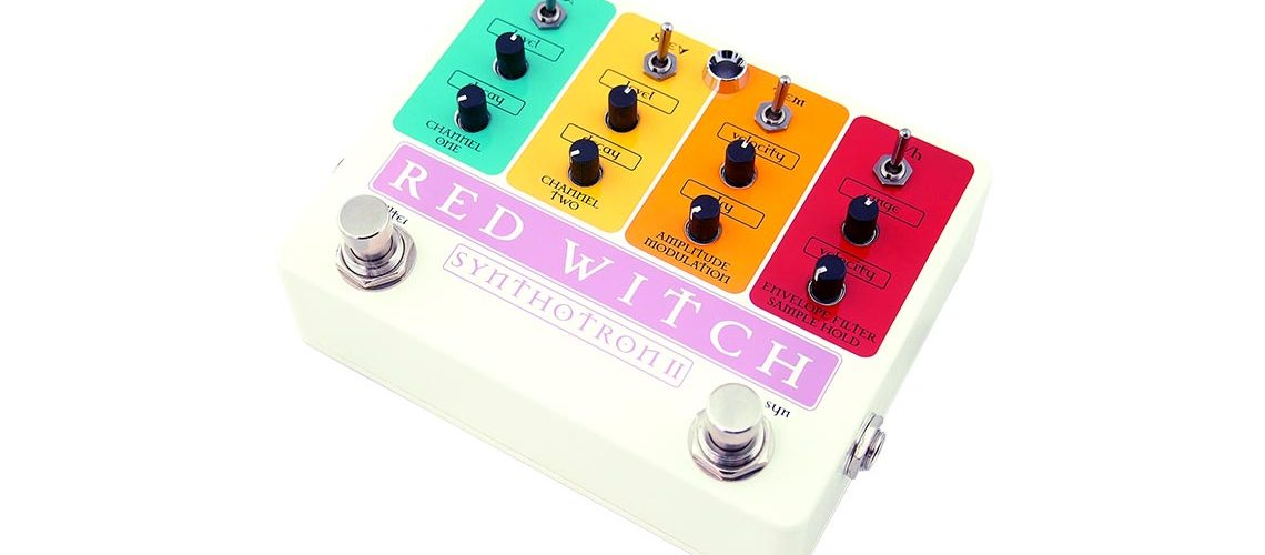 Red Witch releases the Synthotron II Pedal