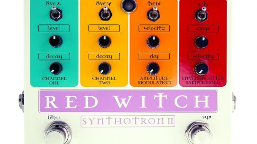 Red Witch Synthotron II Pedal