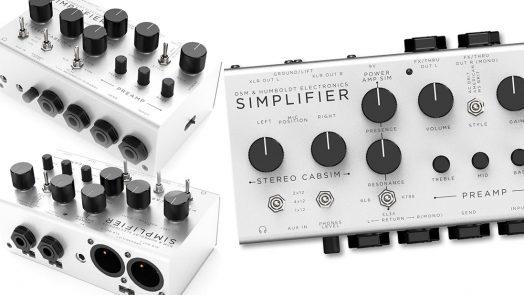 DSM & Humboldt Simplifier - Zero Watt Stereo Amplifier