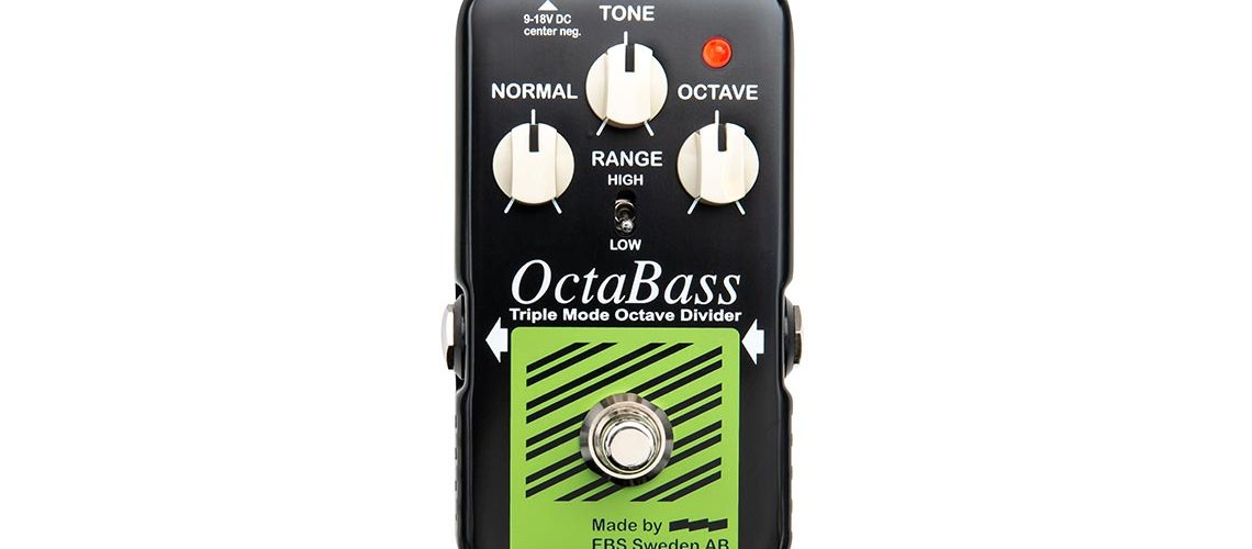 EBS OctaBass'Blue Label' analog octave pedal