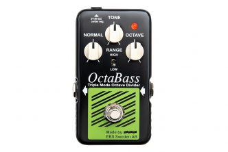 EBS OctaBass 'Blue Label' analog octave pedal