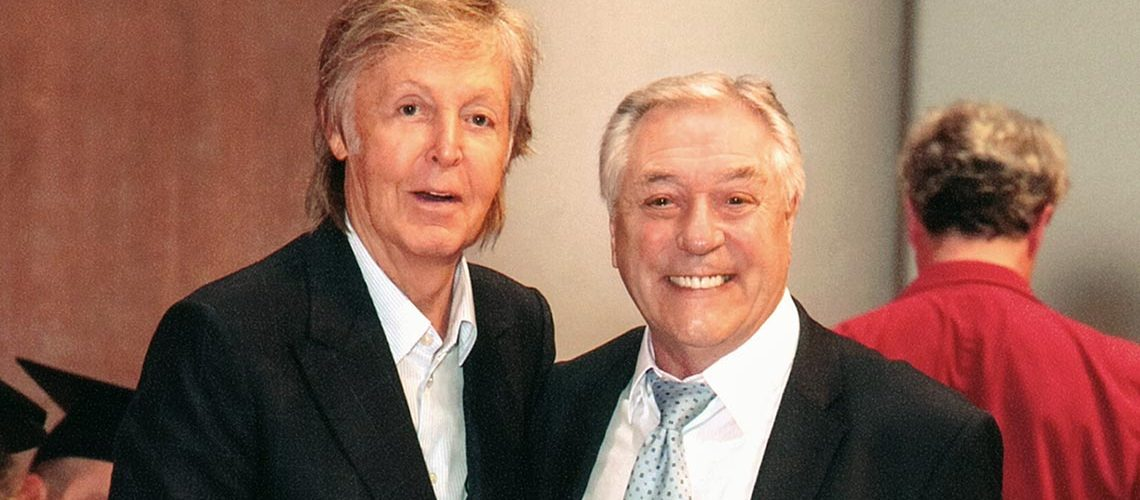 Paul McCartney Makes Orange Amplification's Cliff Cooper LIPA Honoured Friend
