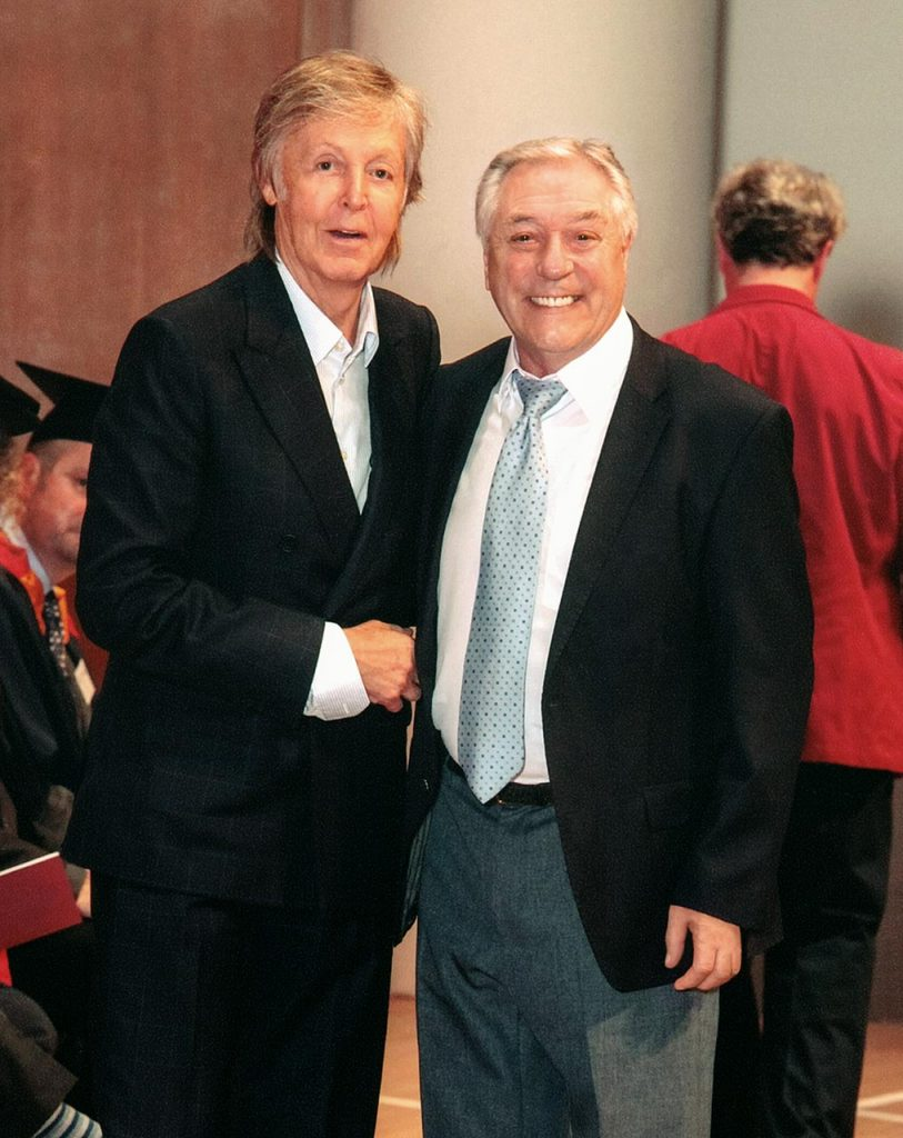 Cliff Cooper and Sir Paul McCartney