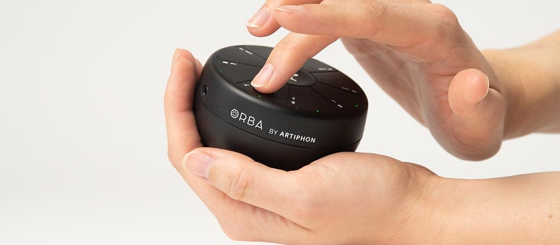 Create A Song In The Palm Of Your Hand With Orba By Artiphon