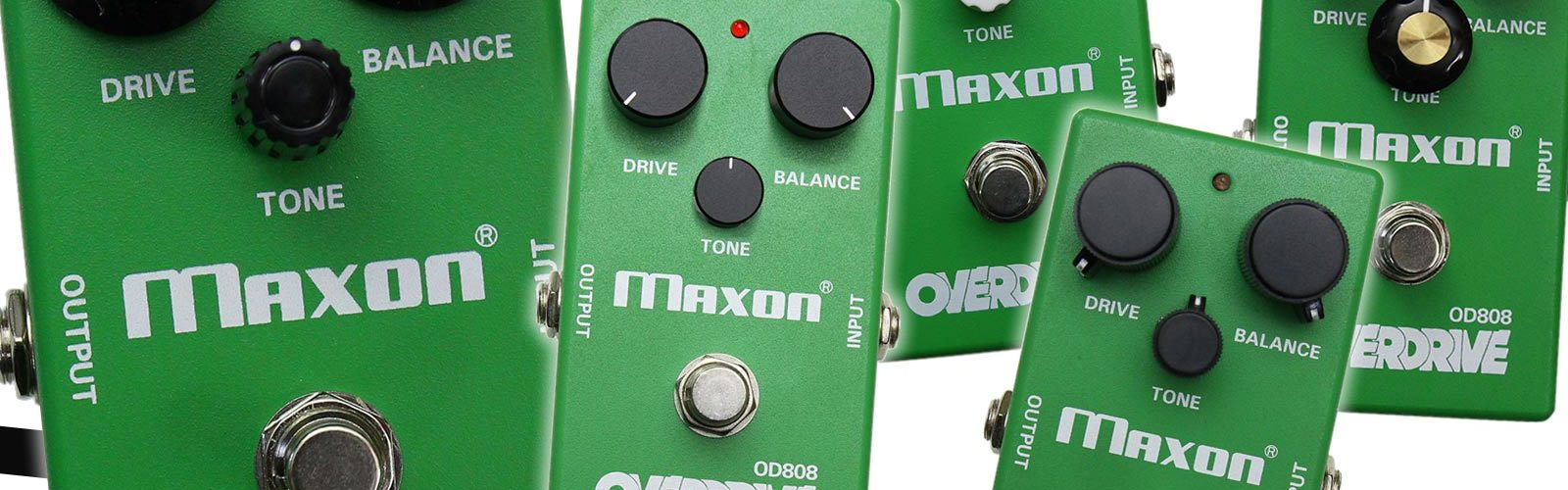 Maxon OD808 Limited Edition 40th Anniversary Overdrive V2 pedal