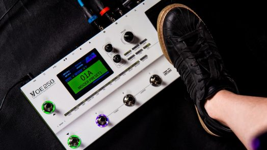 MOOER Audio introduces the GE250 Multi-Effects Processor