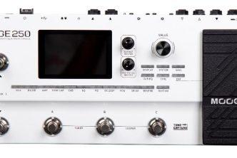 MOOER Audio GE250 Multi-Effects Processor
