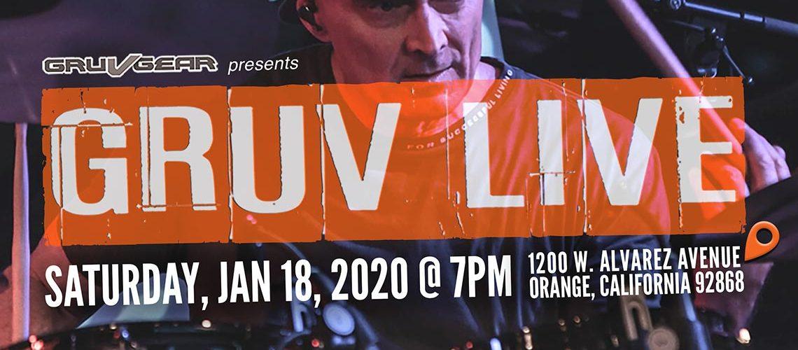 Bassists Henrik Linder, Oskar Cartaya, Kenneth 'Kaybass' Diggs II And Junior Ribeiro Braguinha Play GRUV LIVE 2020