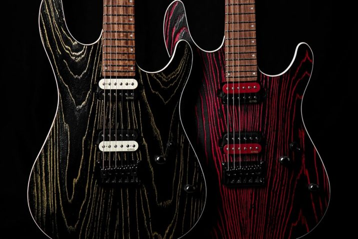 Cort Guitars Gets Edgier with New KX300 Etched