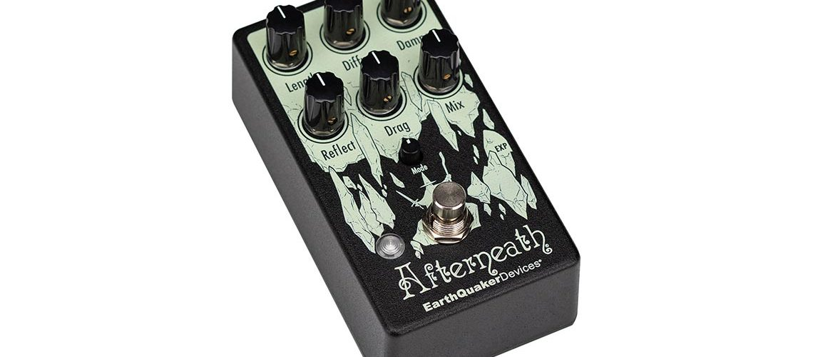 EarthQuaker Devices to Release Afterneath V3 Enhanced Otherworldly Reverberation Machine