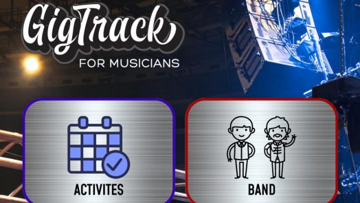 GigTrack Offers Essential Organizational App for Disorganized Musicians
