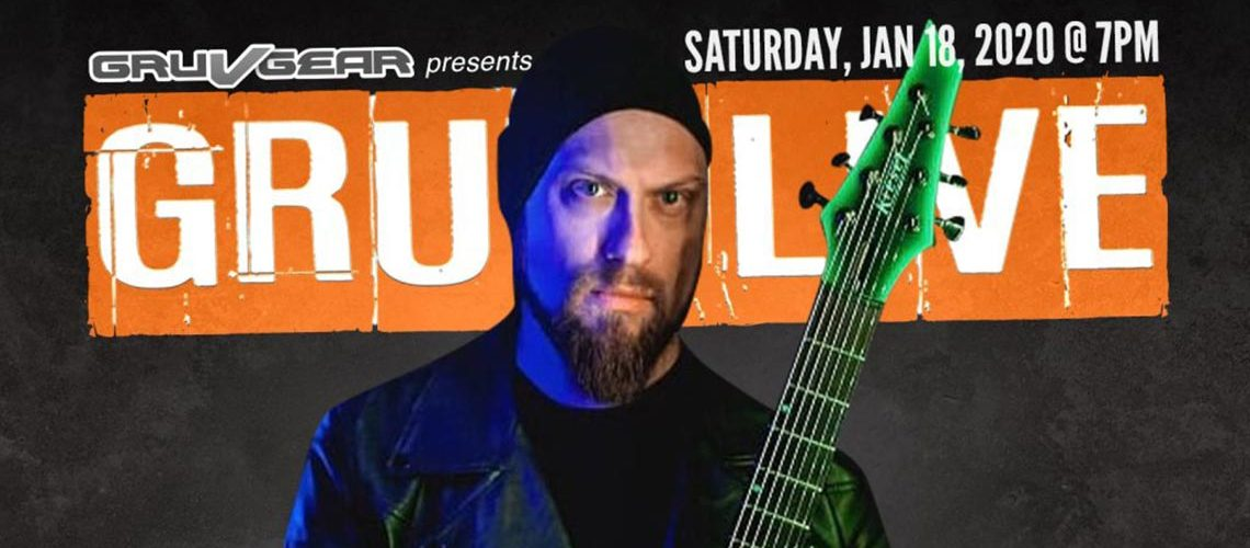 Guitarists Andy James and Andre Nieri Play GRUV LIVE 2020