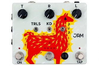 JAM pedals introduce the Delay Llama XTREME!