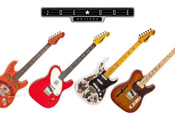 Joe Doe Guitars collaborates with Vintage