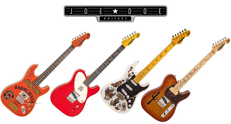 Joe Doe Guitars collaborates with Vintage