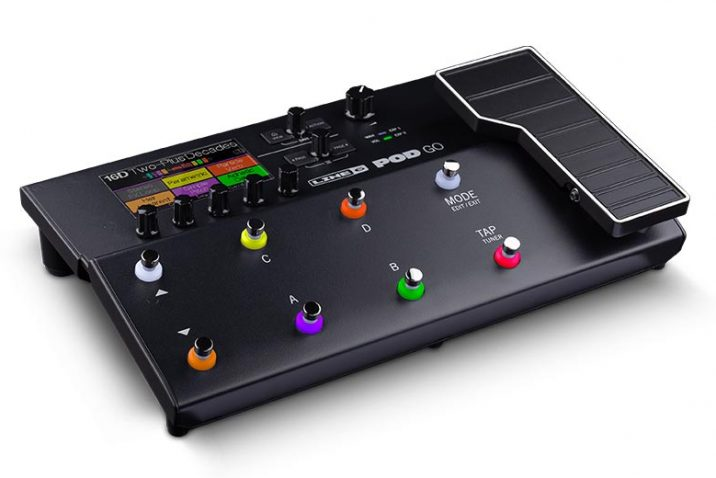 Line 6 Debuts POD Go Guitar Processor The Best-Sounding POD Ever