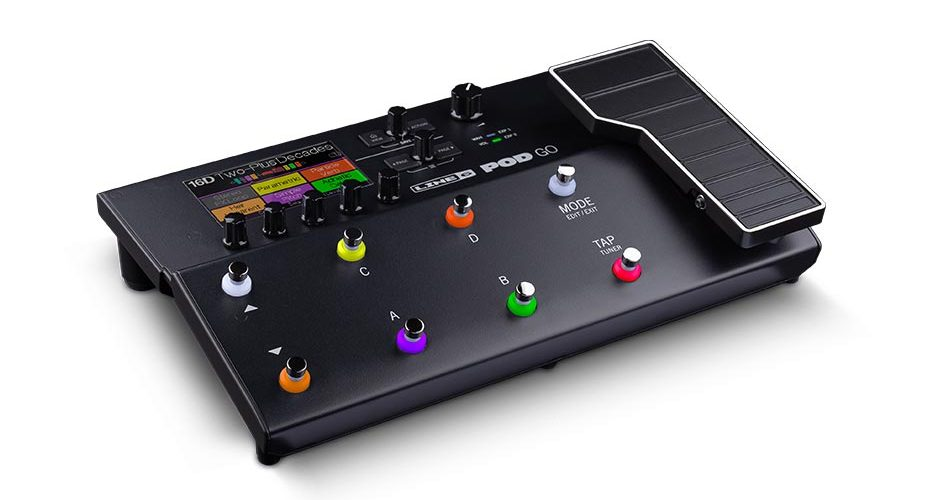 Line 6 Debuts POD Go Guitar Processor The Best-Sounding POD Ever