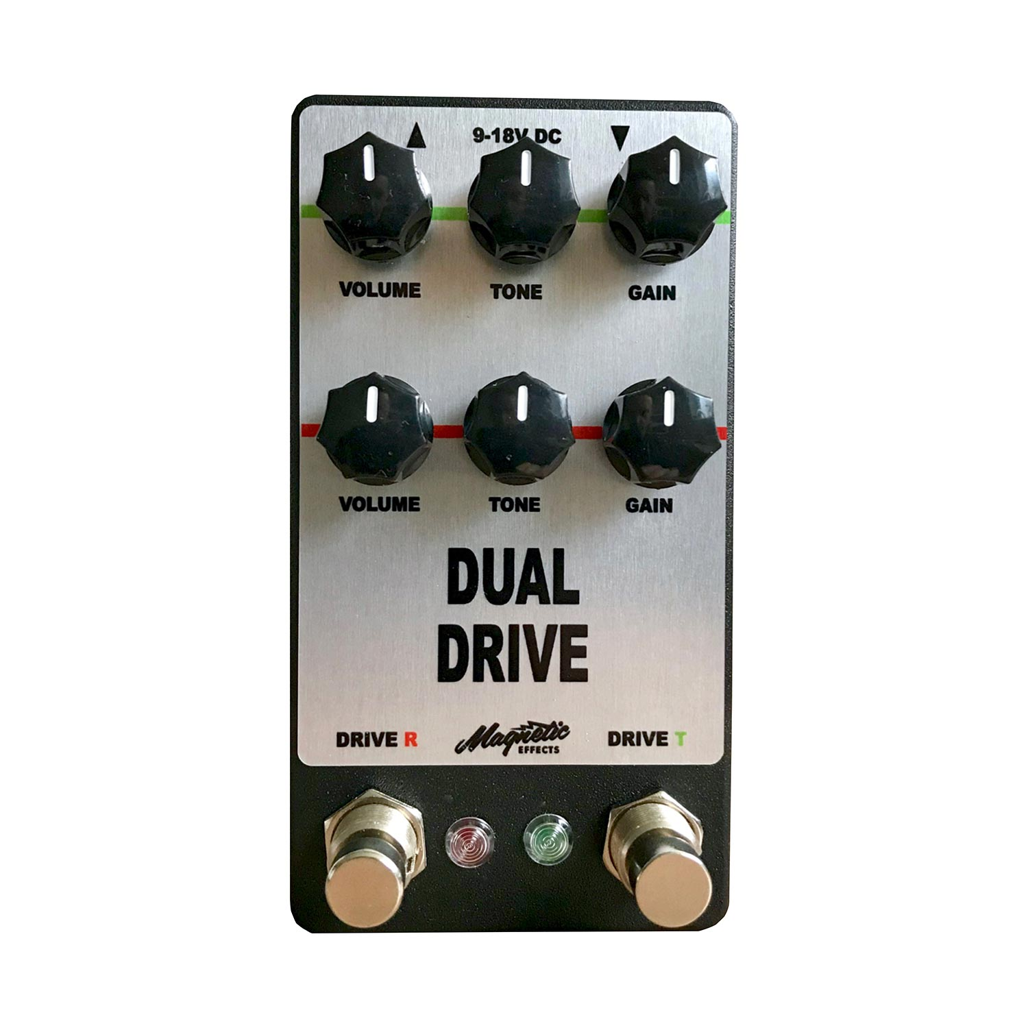 Magnetic Effects Dual Drive Effects Pedal for Guitar