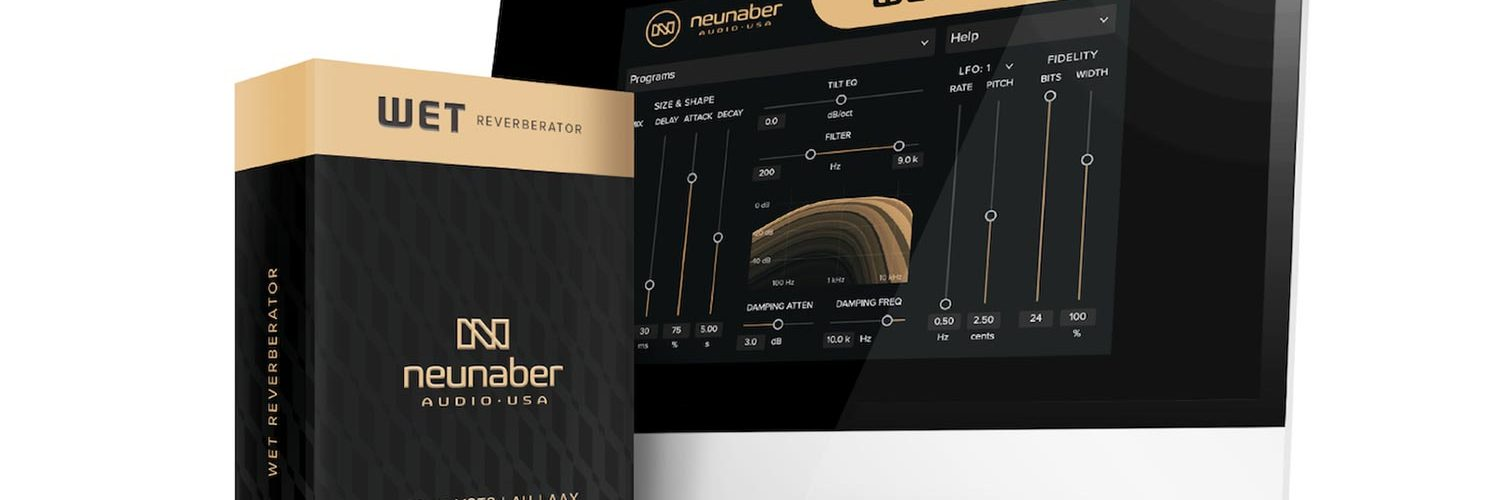 Neunaber Audio Releases New Wet Reverberator Plugin