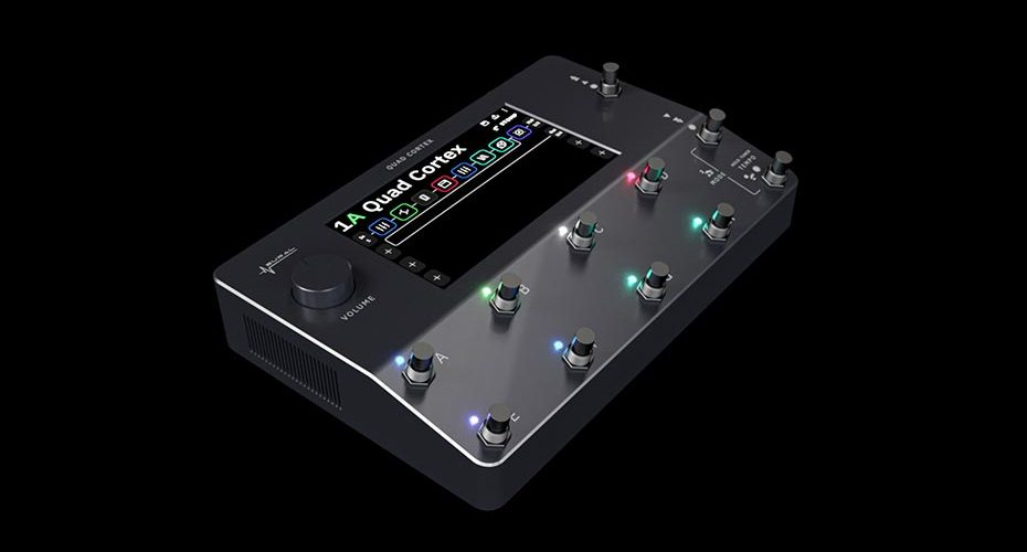 Neural DSP announces Quad Cortex™ modeler & multi-effects floor unit