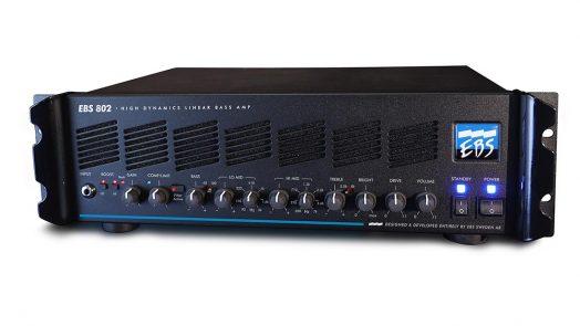 The EBS 802 High Dynamics Linear Bass amp