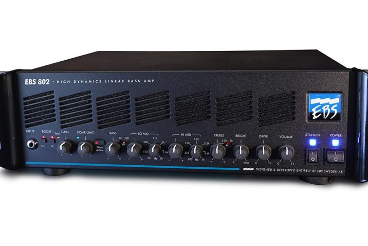 The EBS 802 High Dynamics Linear Bass amp