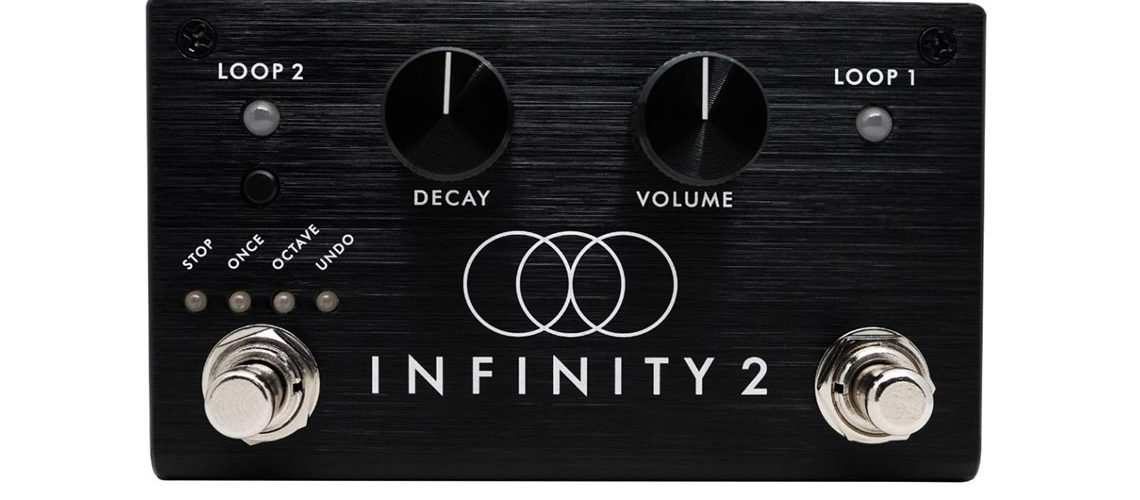 Pigtronix unveils the Infinity 2 Double Looper
