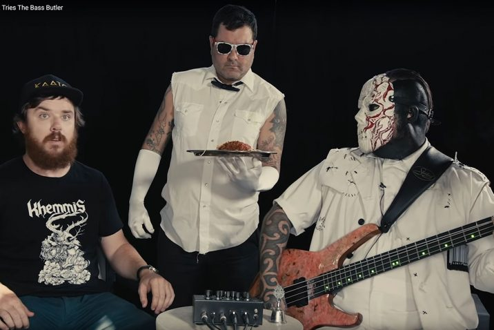 Slipknot's VMan Demands A Lot From The Bass Butler