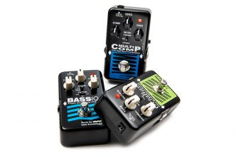 Three EBS Pedals make their NAMM Show debut at the 2020 show