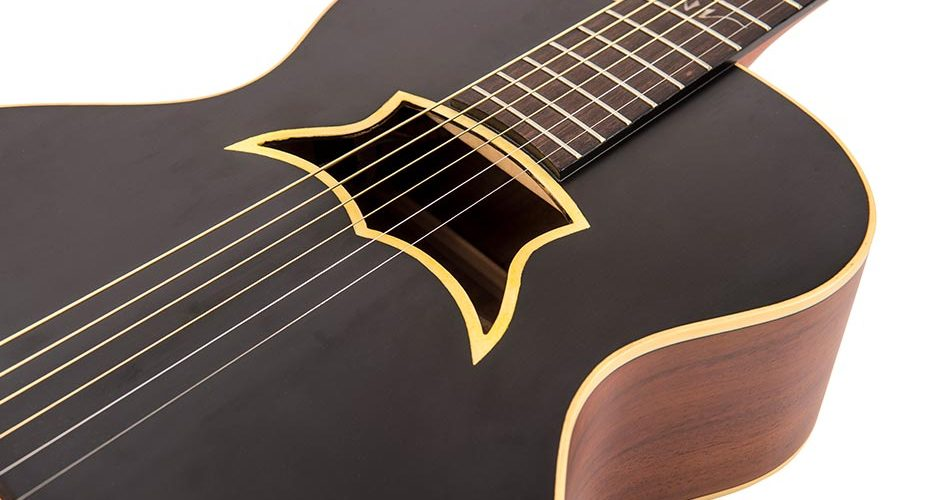Vintage launch the Raven, electro-acoustic guitar
