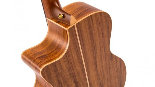 Vintage Virtuoso Rory Evans single cutaway electro-acoustic guitar