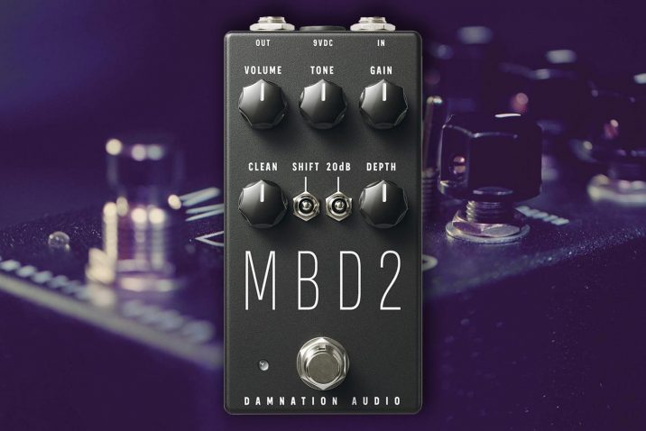 Damnation Audio MBD-2 MOSFET Bass Distortion 2.0