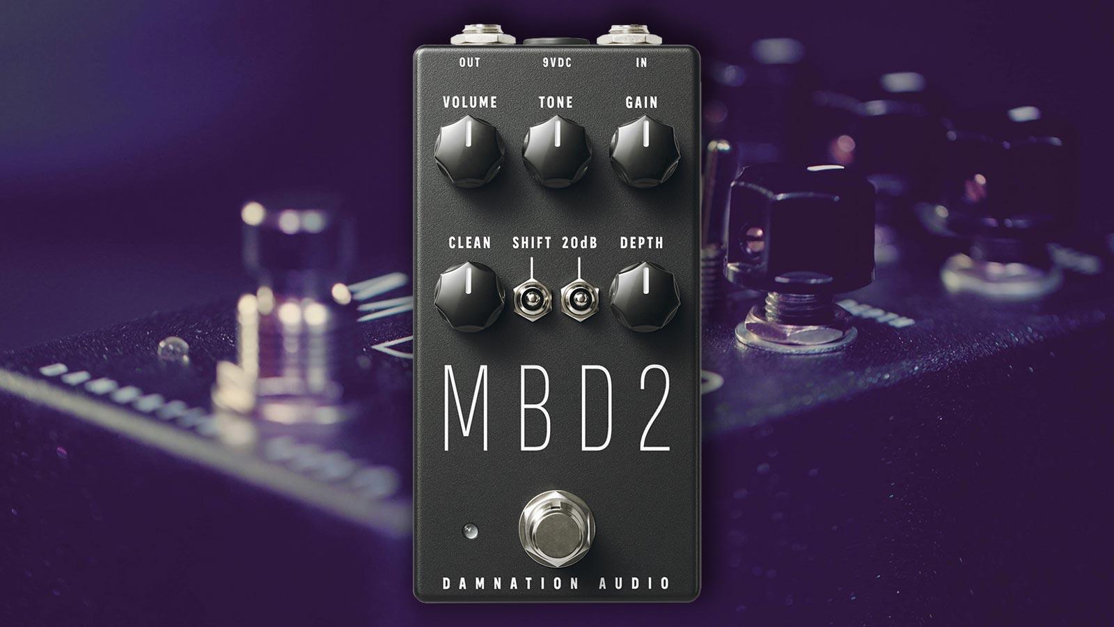 Damnation Audio MBD-2 MOSFET Bass Distortion 2.0
