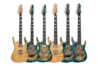 Dean Guitars Exile Select Series Electric Guitars