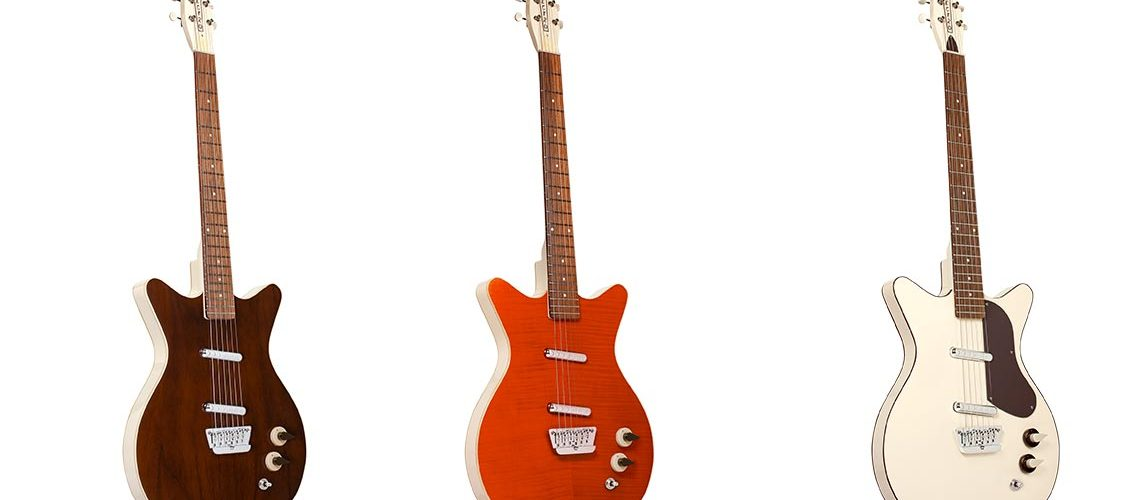 Danelectro launch Reissue 59 Divine 6 string guitars