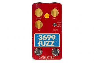 Danelectro reissue the iconic 3699 Fuzz
