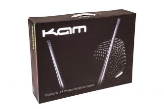 KAM launch four new professional handheld, KWM fixed and multi-channel UHF wireless microphone systems