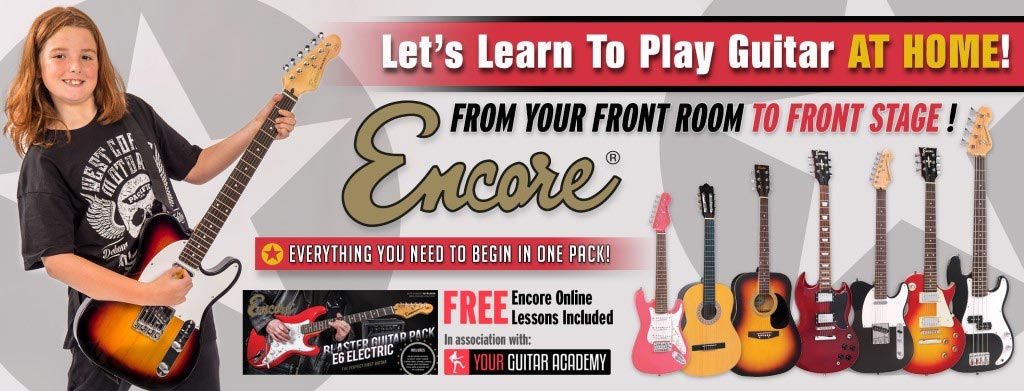Self-isolate and learn an instrument with Encore