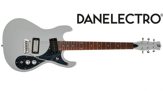 Danelectro '64XT electric guitar now available in Ice Gray