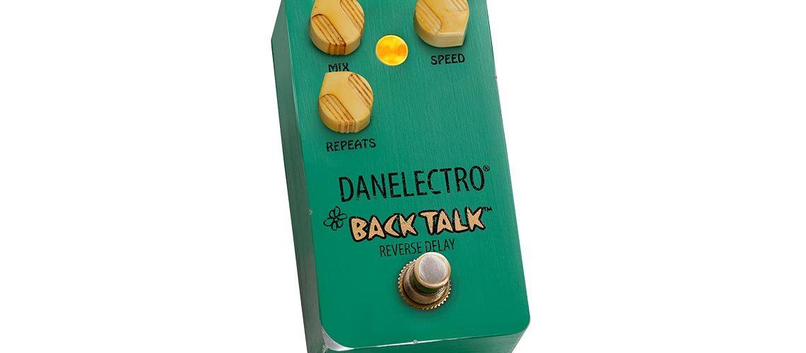 Danelectro relaunch the legendary Back Talk Reverse Delay Pedal